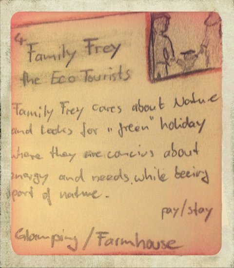 Who will use the SPACEs? Persona: Family Frey
